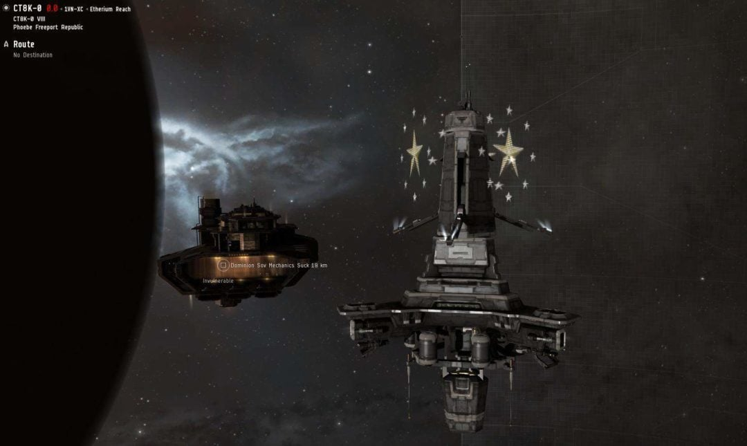 EVE Online Structures