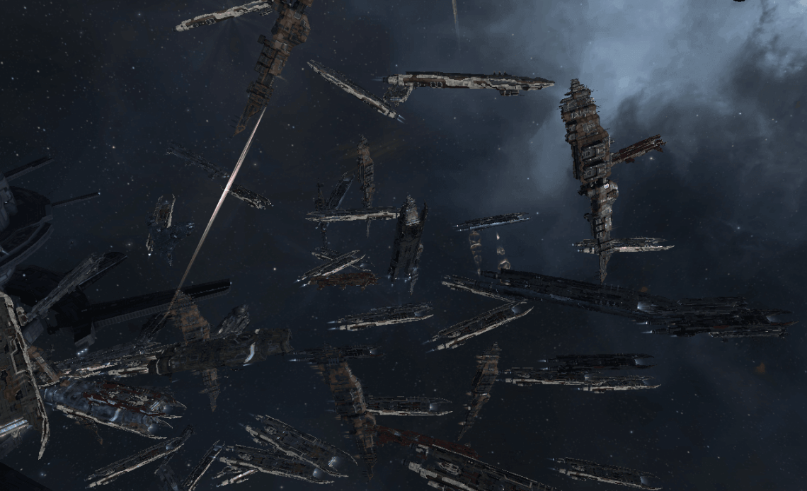 EVE Online Capital Fight
