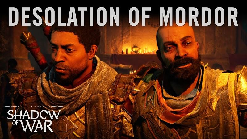 Desolation of Mordor DLC Trailer