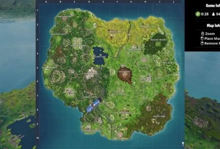Fortnite Season Four New Map