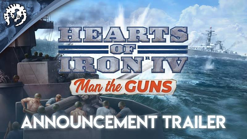 Hearts of Iron IV: Man the Guns expansion announced