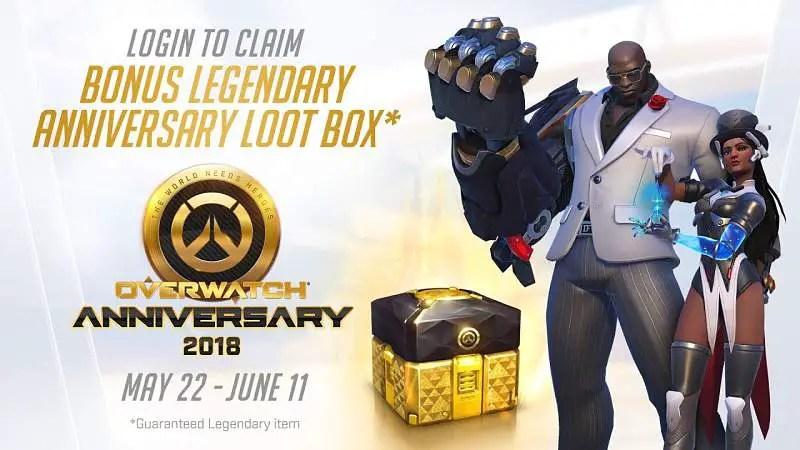 Overwatch Second Anniversary Event Begins