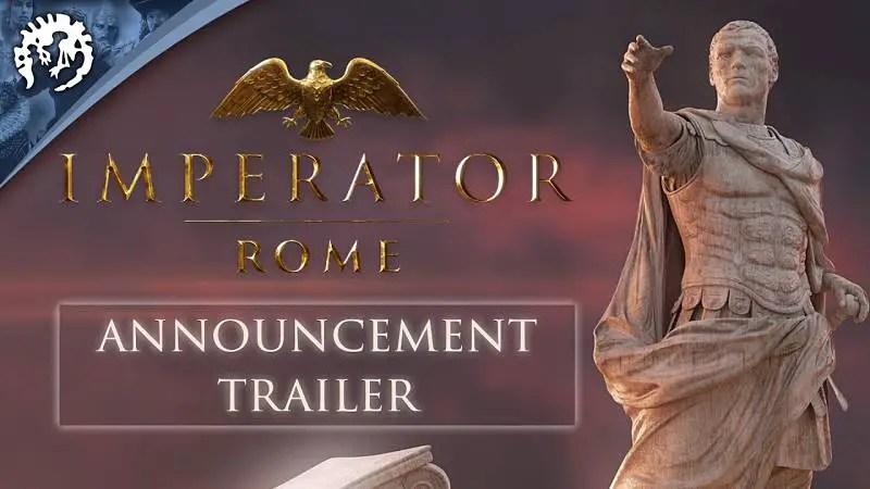 Paradox Announces Imperator: Rome