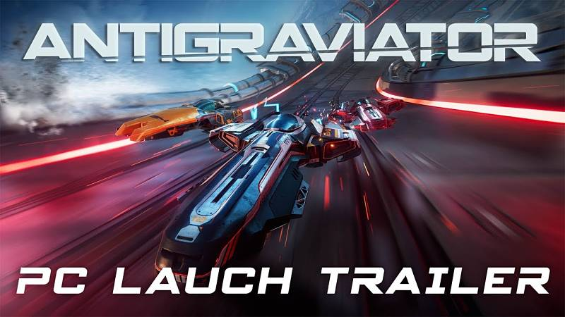 Antigraviator Trailer Released
