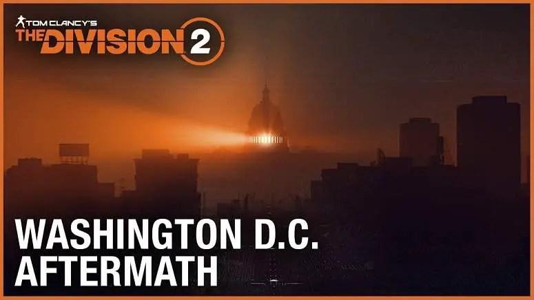 The Division 2 E3 Trailer