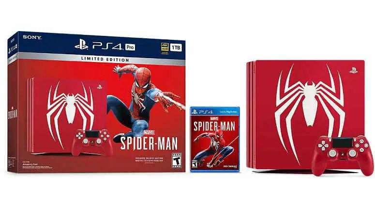 Spider-Man PS4 Pro Bundle