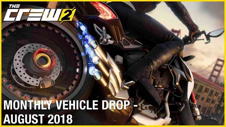 The Crew 2: August Vehicle Drop Trailer