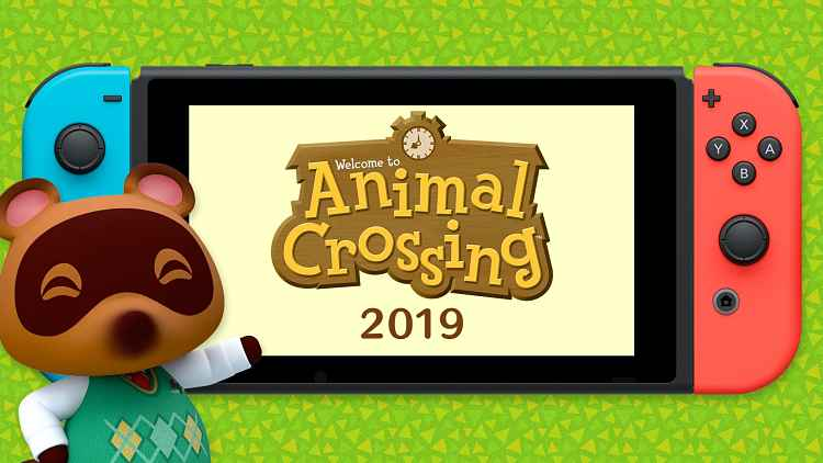 New Animal Crossing game is Coming to Switch in 2019