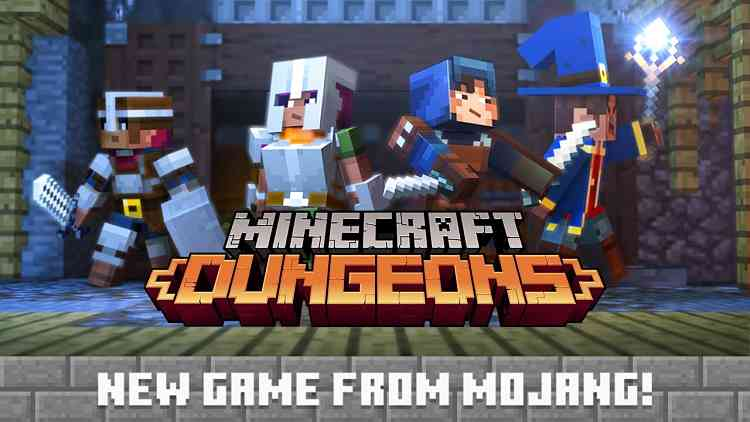 Minecraft: Dungeons Announced for PC in 2019