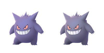 Pokémon Go Shiny Gengar
