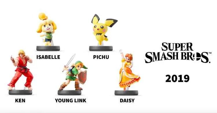 New Super Smash Bros. Amiibos Revealed
