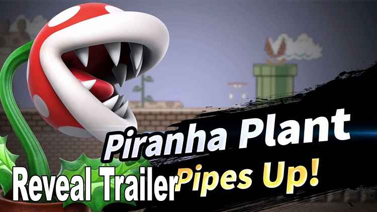 Super Smash Bros. Ultimate Reveals Piranha Plant
