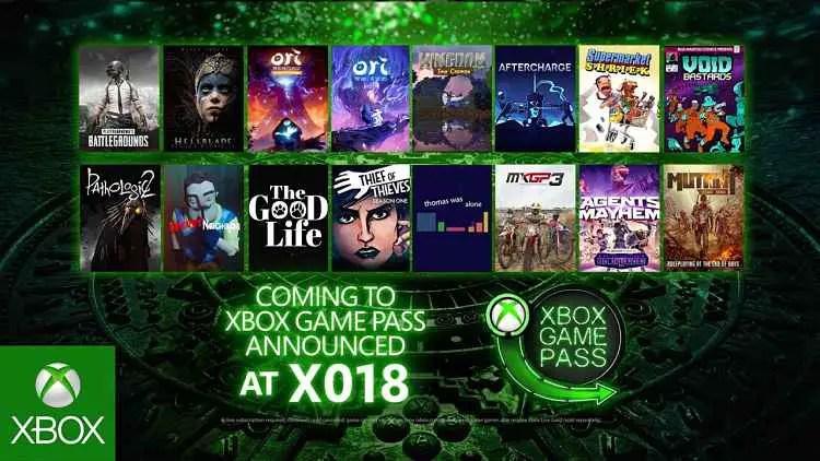 Xbox Game Pass Adding 16 New Titles
