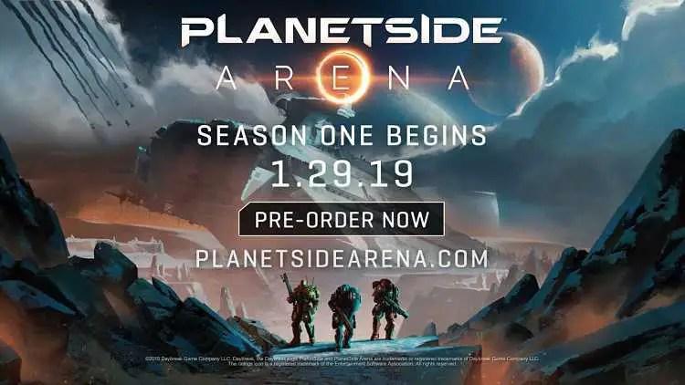Daybreak Announces PlanetSide Arena, a 500 player Battle Royale