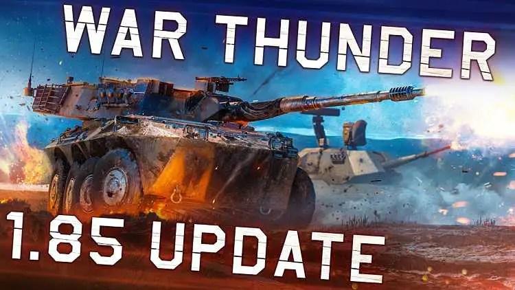 War Thunder 1.85 Update Live