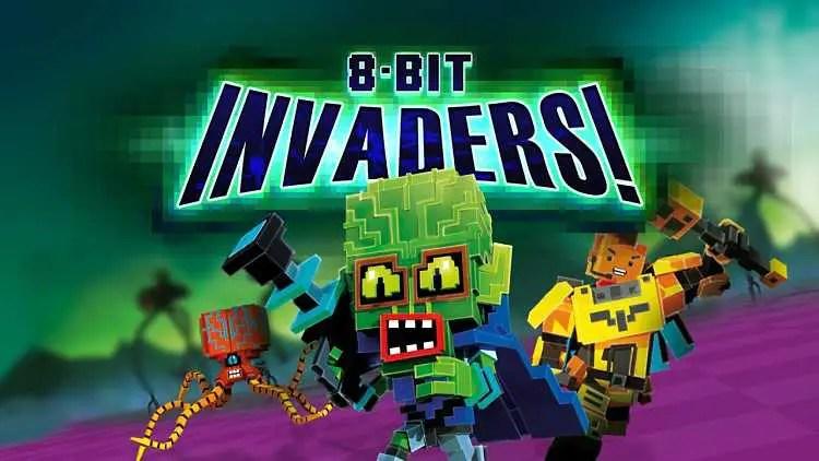 8-Bit Invaders! Gameplay Trailer
