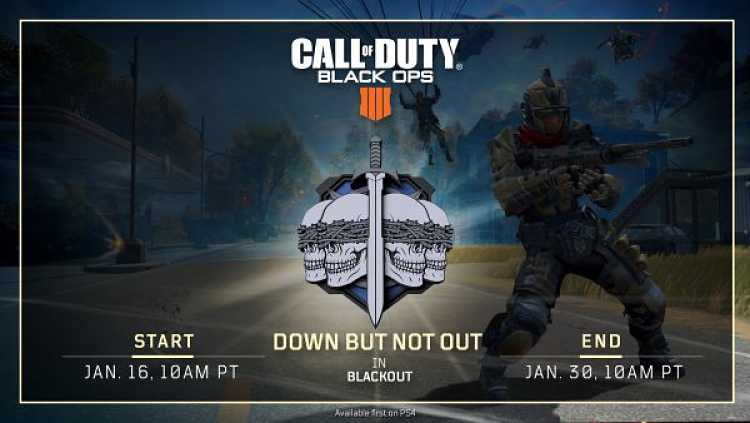 Call of Duty: Black Ops 4's Down But Not Out Mode