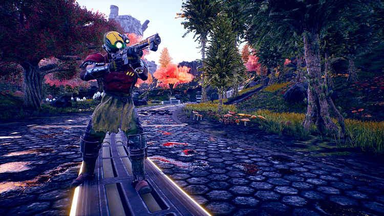 The Outer Worlds Companion Gameplay