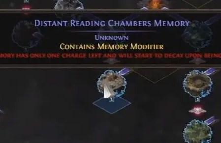 POE Synthesis Memory Nexus Guide Memory Modifier