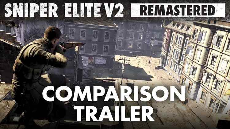 Sniper Elite V2 Remastered Will Arrive This May