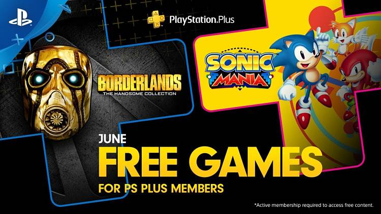 PlayStation Plus June 2019 Free Games Revealed