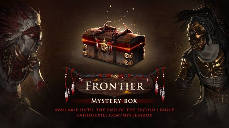 Path of Exile Adds New Frontier Mystery Box