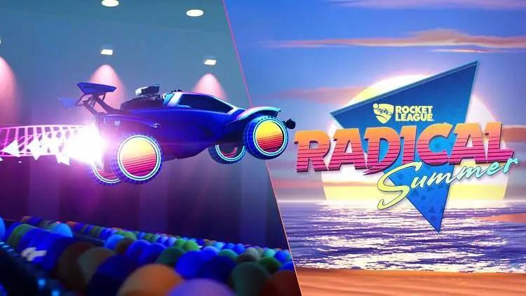 Rocket League Announces Radical Summer Event