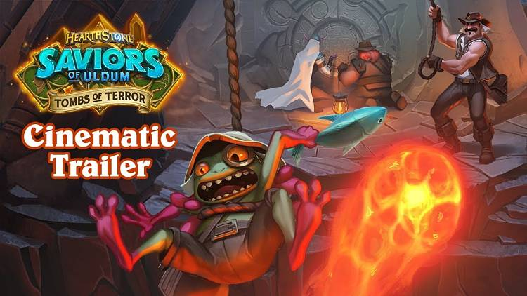 Hearthstone Tombs of Terror Launch Date