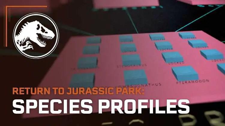 Jurassic World Evolution: Return to Jurassic Park Species Trailer