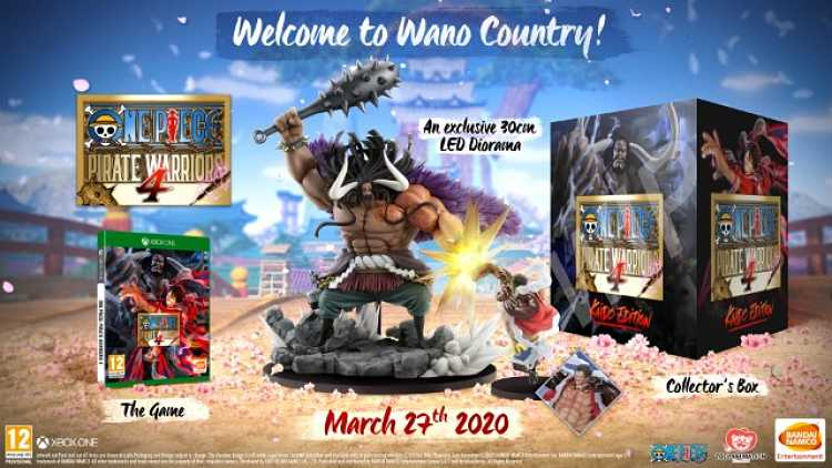 One Piece Pirate Warriors 4 details release date