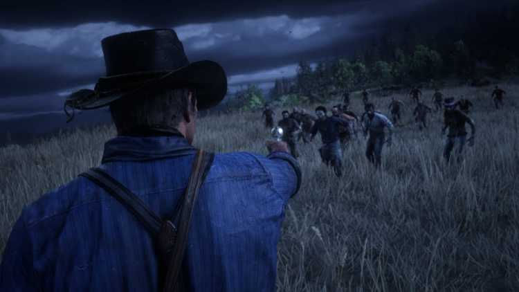 Zombies in Red Dead Redemption 2