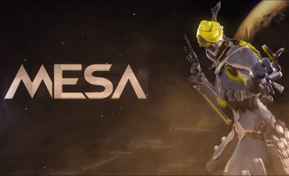How To Get Mesa In Warframe