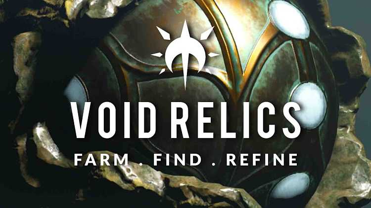Warframe Guide to Cracking and Refining Void Relics