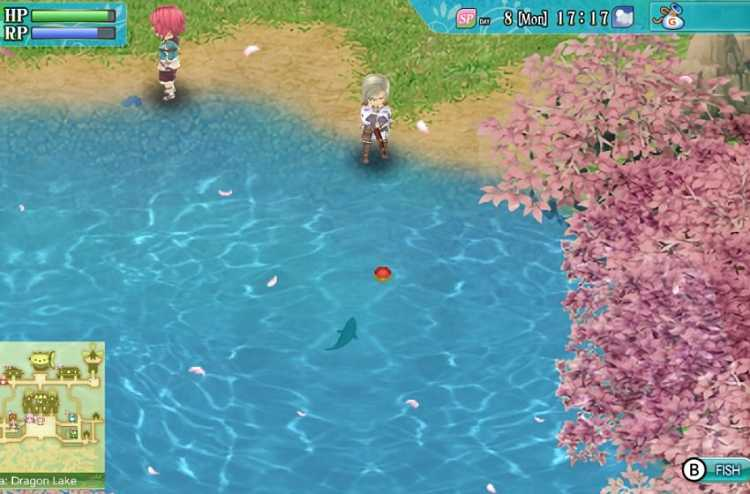 Guide to fishing in Rune Factory 4
