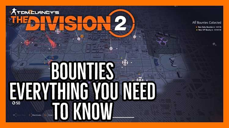 How bounties work in The Division 2