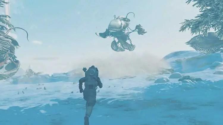Living Ships In No Man's Sky