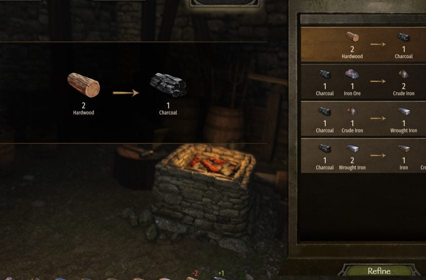 How to get charcoal in Mount and Blade II: Bannerlord