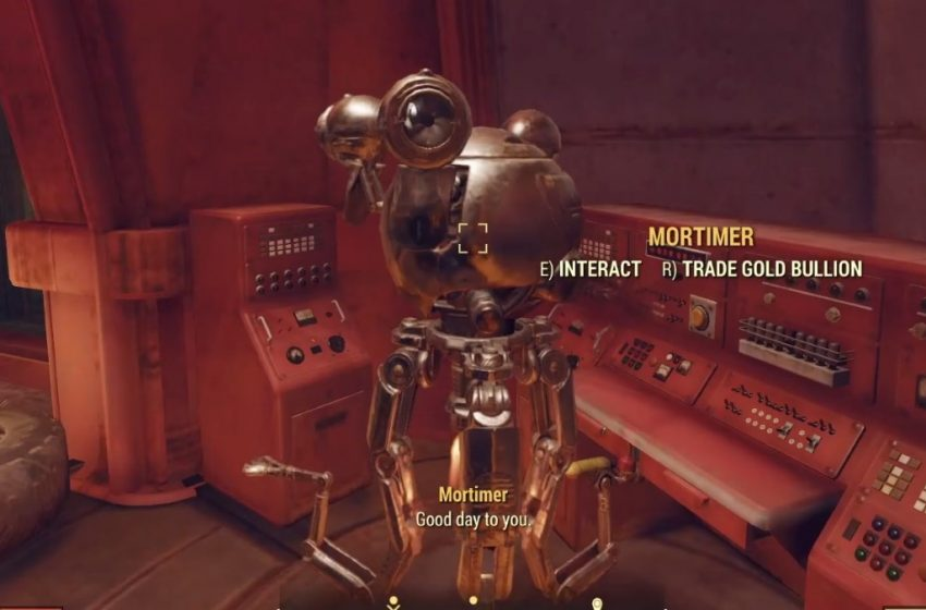 Where are the Gold Bullion vendors in Fallout 76