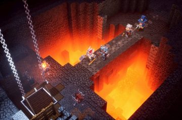 Minecraft Dungeons Howling Peaks is out now