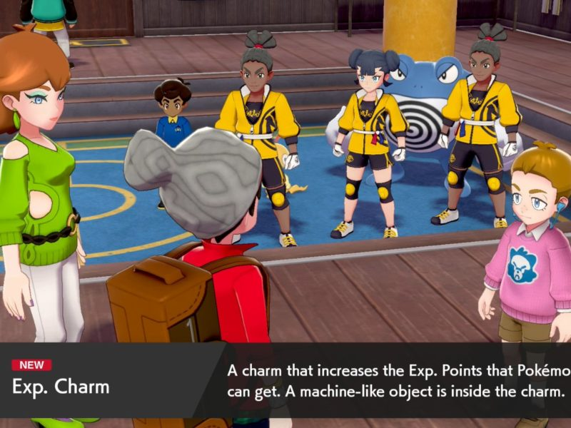 How to get the EXP Charm in Pokémon Sword and Shield Isle of Armor