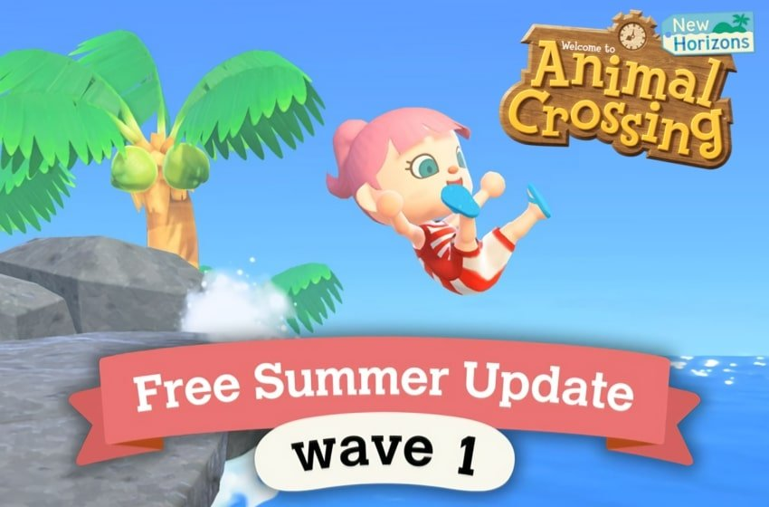 Animal Crossing Summer Update Wave 1 Details