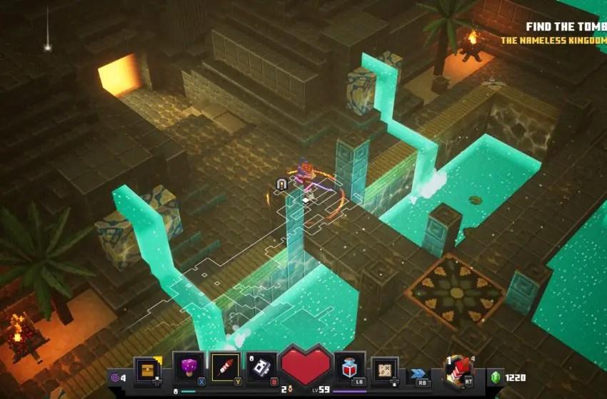 How to unlock the Desert Temple secret level Lower Temple