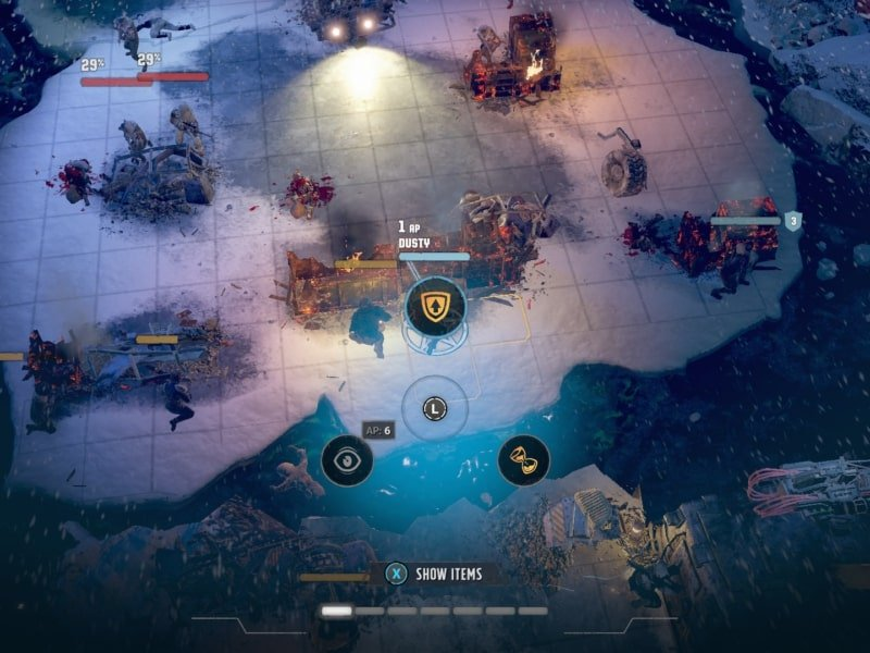How Action Points in Wasteland 3 work