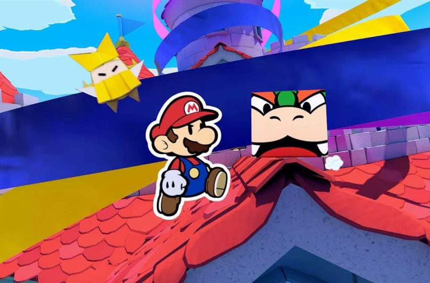Paper Mario: The Origami King update 1.0.1