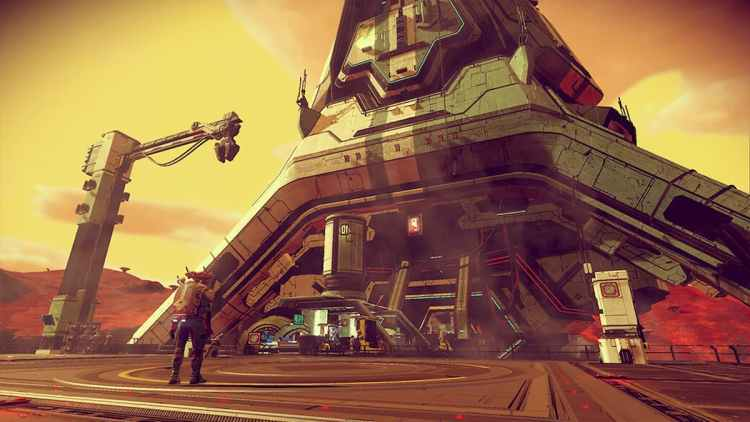 Colossal Archive Building in No Man's Sky