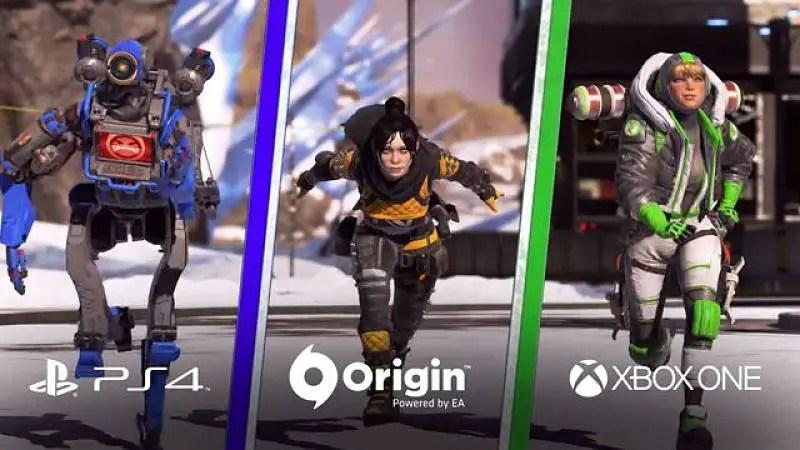 Apex Legends crossplay beta begins next week