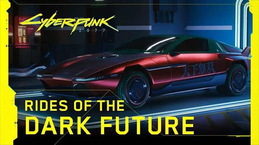 New gameplay trailer shows Cyberpunk 2077 vehicles