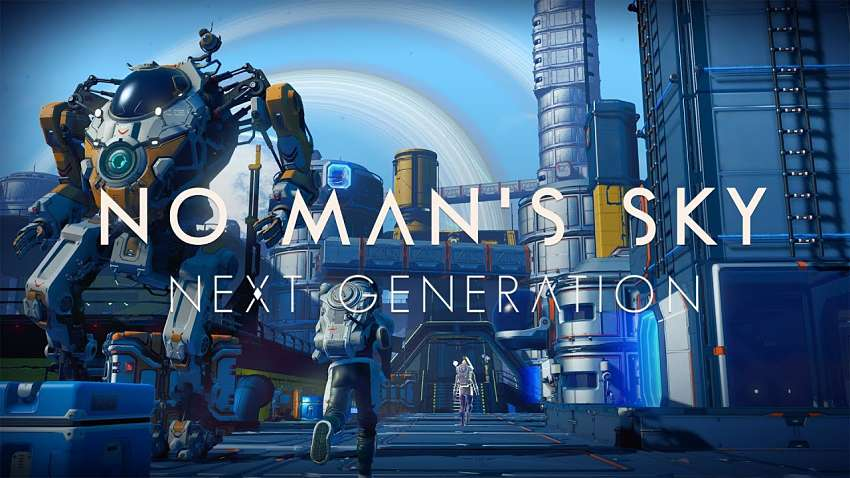 No Man's Sky Update 3.10 Kicks Off Next-Gen