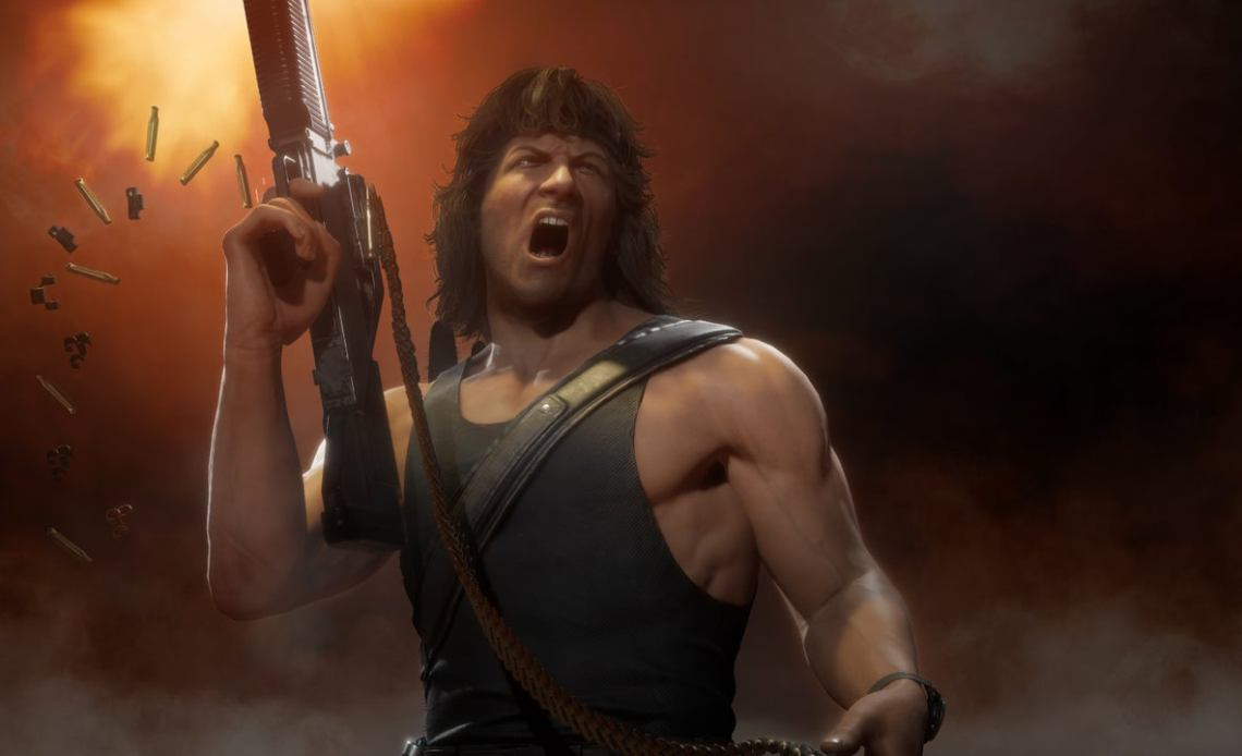 Rambo is coming to MK 11