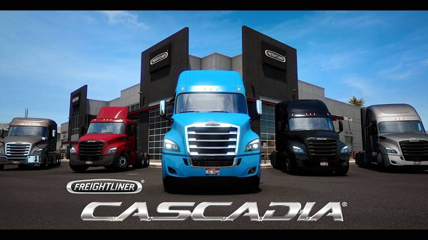 Freightliner Cascadia added to American Truck Simulator